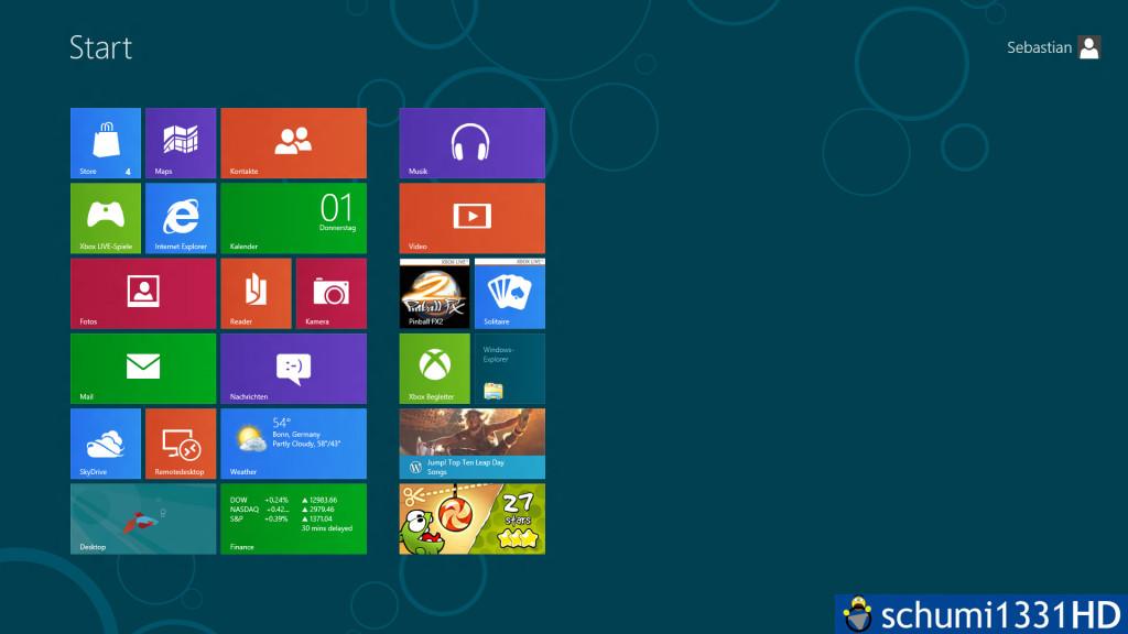 Windows 8 - Modern UI