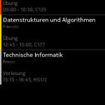 Day view / Tagesansicht (Symbian)