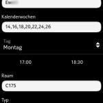 Edit event / Veranstaltung bearbeiten (Symbian)