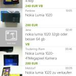 Suchergebnisse (Windows Phone)