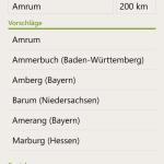 Positionseinstellungen (Windows Phone)
