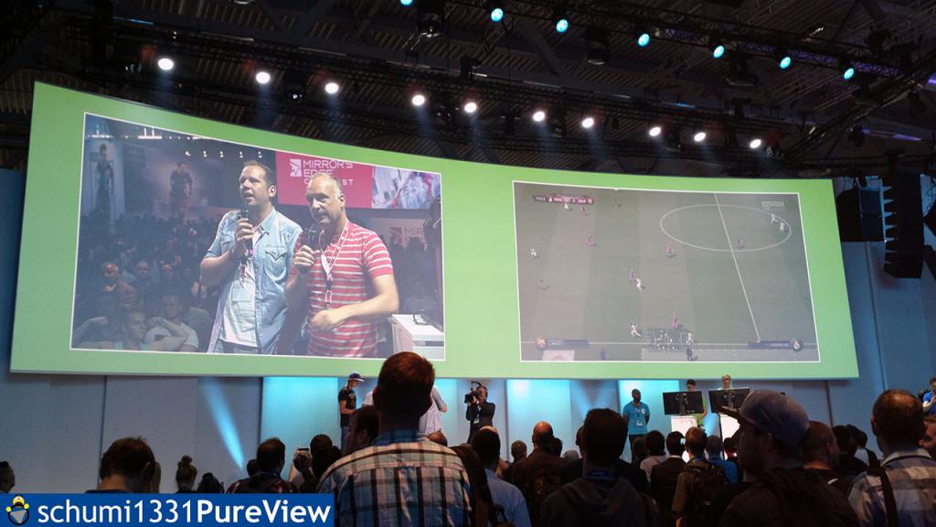 Buschi kommentierte am Mittwoch ein FIFA-Spiel