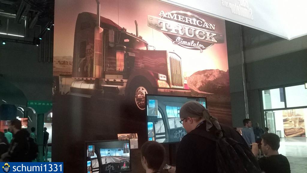 Der American Truck Simulator-Stand