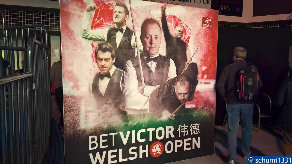 BetVictor Welsh Open (Ronnie O'Sullivan ist der Herr links :D )