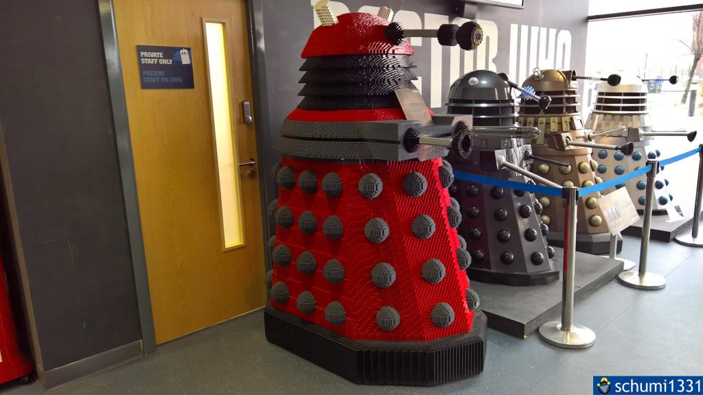 Ein Dalek aus LEGO-Steinen