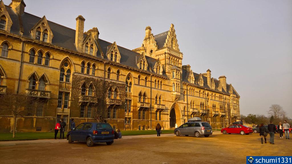 Christ Church, Oxford (ja, bei den anderen Sachen war ich gerade zu faul, um herauszufinden, was das für Gebäude sind ^^)