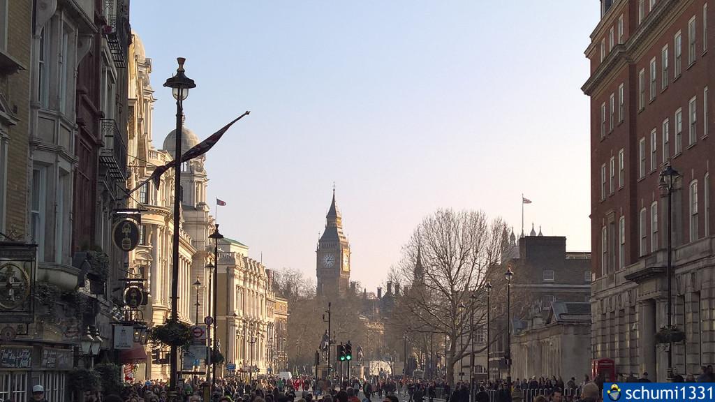 Mein erster bewusster Blick auf den Big Ben