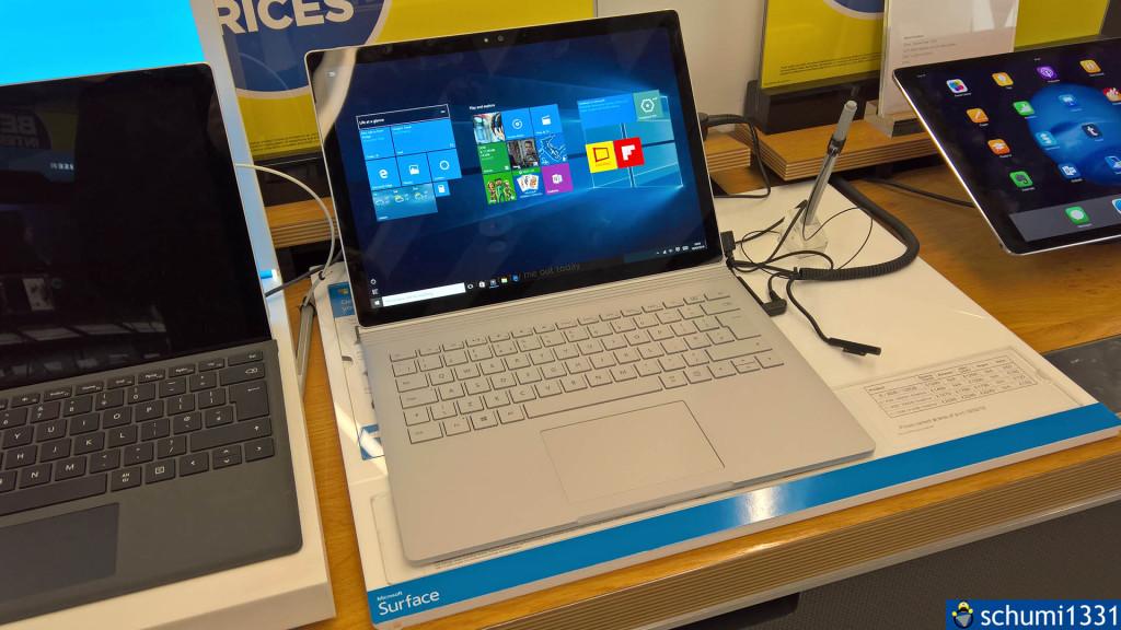 Meine erste Begegnung mit einem Surface Book