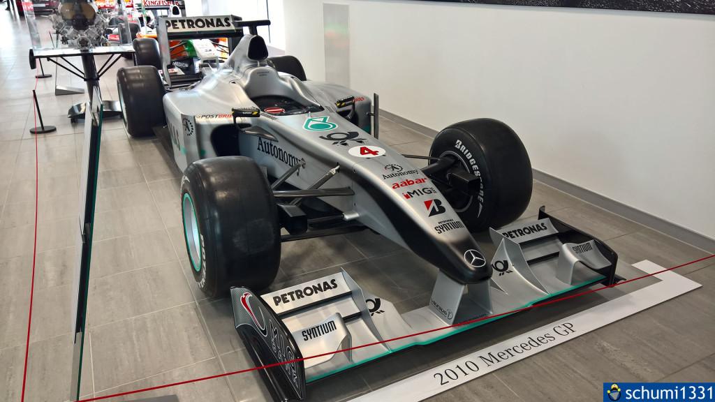 Als Michael Schumacher bei Mercedes fuhr...