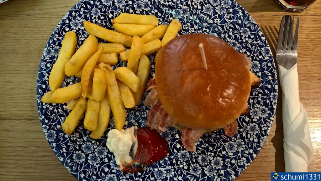 Burger zum Abschied ;)