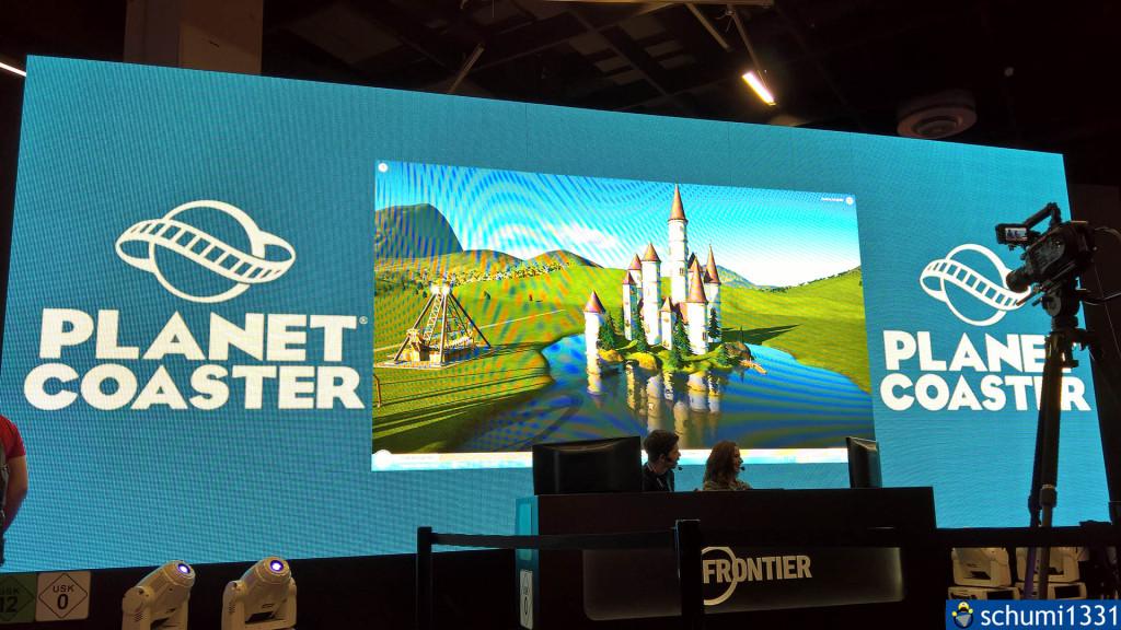 Planet Coaster - leider nicht anspielbar :/