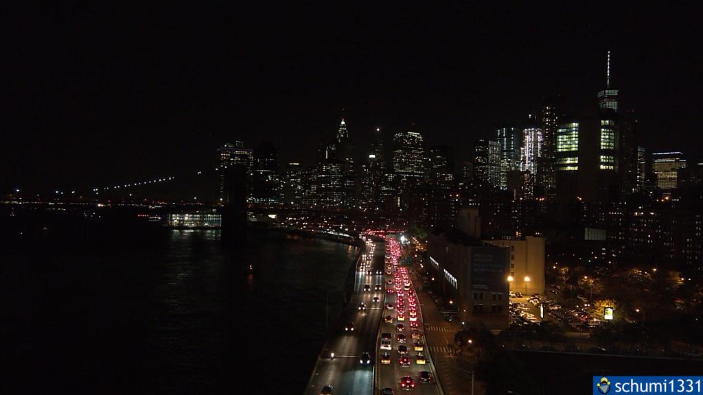 FDR Drive von der Manhattan Bridge aus