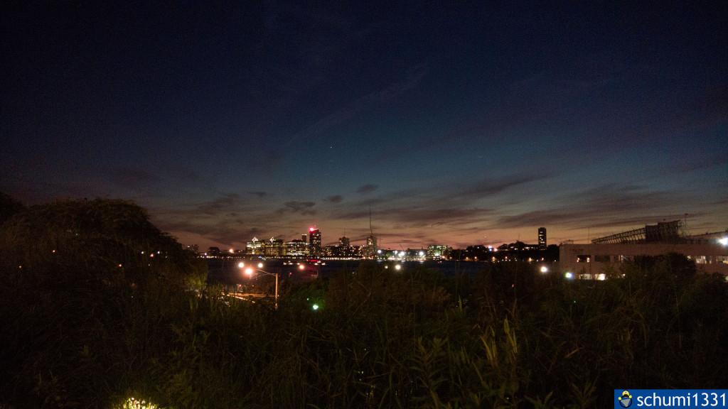 Vom High Line Park aus