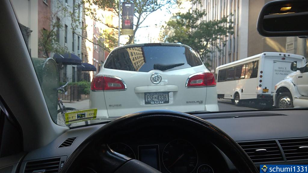 Der Reiz loszufahren und sich in den amerikanischen Verkehr zu stürzen war schon da... :D