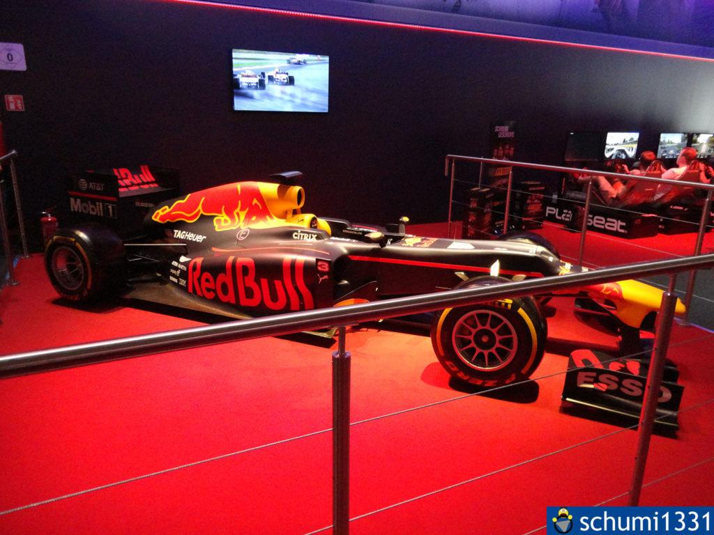 Auch F1 2017 war dabei