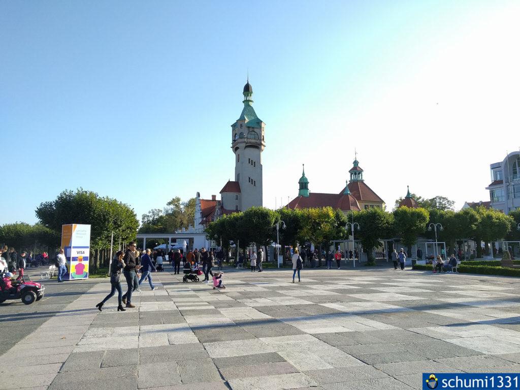 Der Leuchtturm von Sopot (Zoppot)