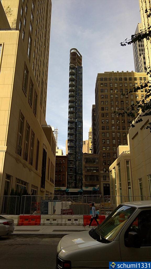 Ein sehr interessantes Gebäude beim Herumirren durch Downtown Manhattan