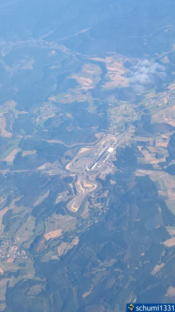 Der Nürburgring aus der Luft