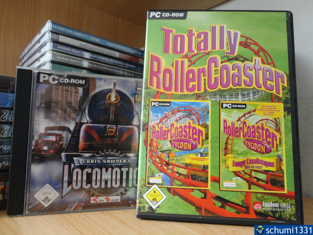 RollerCoaster Tycoon & Locomotion