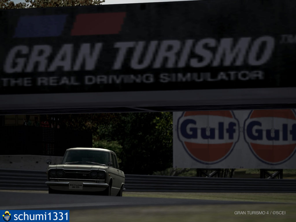 Fotomodus in Gran Turismo 4