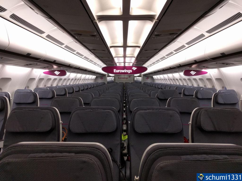 Erster Einblick in meinen damals künftigen Arbeitsplatz - einen A330-200