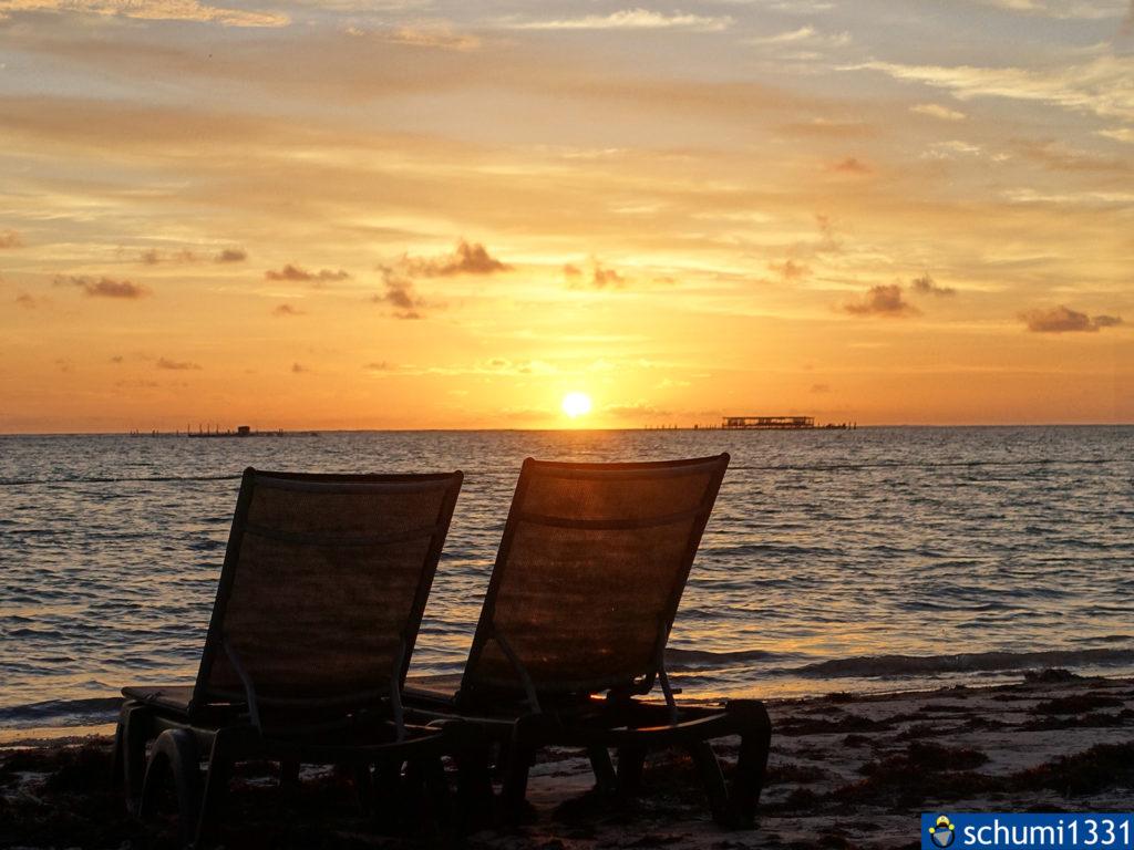 Am Strand von Punta Cana kann man gut gewisse Rückschläge verarbeiten...